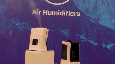 2 black and white whole house humidifier
