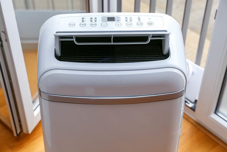 a brand new dehumidifier
