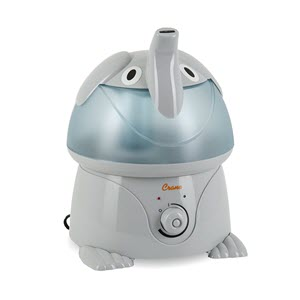 Crane Filter-Free Cool Mist Humidifiers for Kids, Elephant