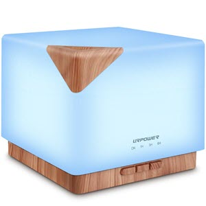 Square Aromatherapy Essential Oil Diffuser Humidifier