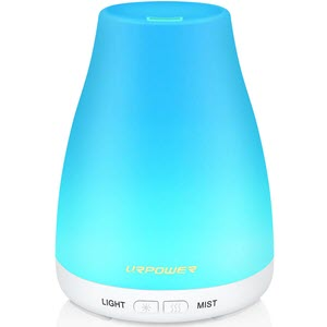 URPOWER 2nd Version Essential Oil Diffuser Aroma Essential Oil Cool Mist Humidifier