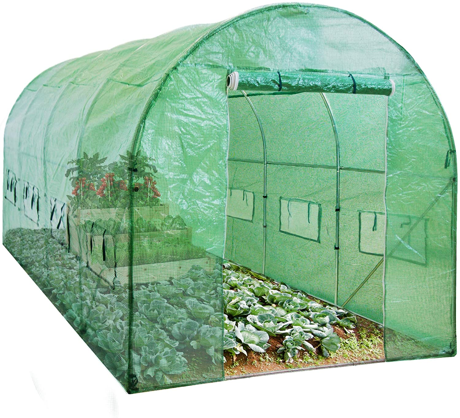 Best Choice Products Portable Walk-In Tunnel Greenhouse