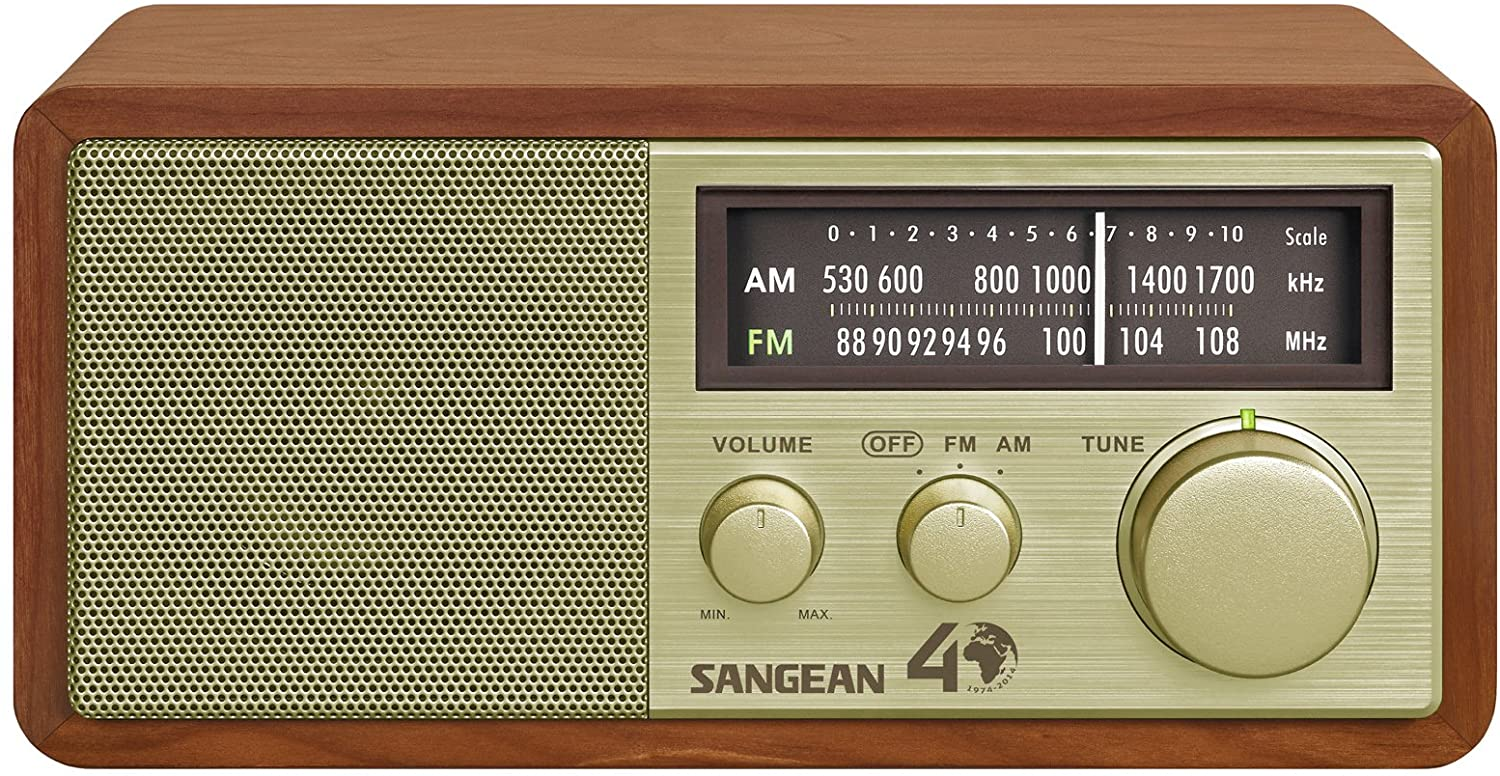 Sangean AM/FM Table Top Radio