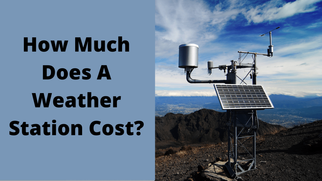 A Weather Station Cost